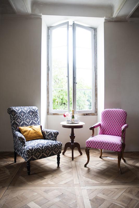 Chambre Sicarie Bed & Breakfast Chateau des Chauvaux Dordogne Chambres d'Hôtes zithoek