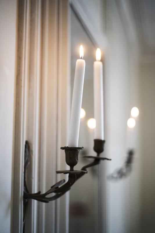Badkamer Chambre Blanche kaarsen