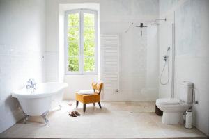 Badkamer Chambre Blanche overzicht